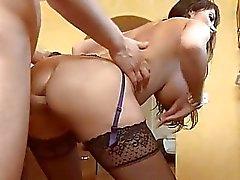Sexy und schlüpfrig anal Bohrungen