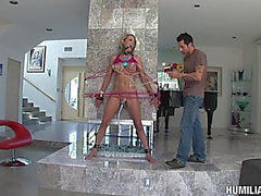 Satisfying Slavery For The Breasty Blond Nikki Austin