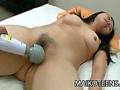 Megumi Shibata - Teen Japanese Girl Cum Drizzled
