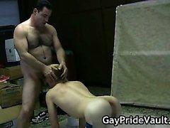 Трудно гей мишку чертовски сосать part1