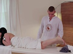 RELAXXXED - Sensual fuck on the massage table for Czech babe