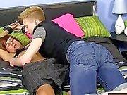 Бесплатно однополый секс короче говоря Лаки Kyler пепла Нафан Clark все связан