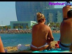 Compilation Topless Amateur Beach Voyeur Teens