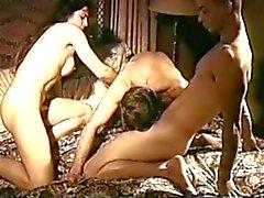 Vintage bisexuella MMF trekant