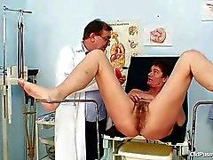 Milf haarige Muschi Gynäkomastie Prüfung im Krankenhaus
