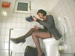 Befriedigung über Toilettenartikel nach snahbrandy