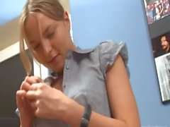 Ivana teenager goes anal at office