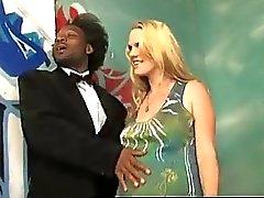 Pregnant Blonde In Is Black Gang...