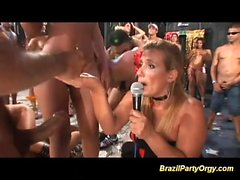 бразилец вакханалию партии