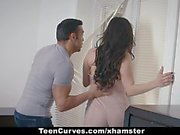 TeenCurves - Curvy Babe Fucked By King Sized Cock