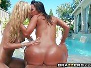 Brazzers - Big Wet Butts - Jada Stevens Jessie Rogers och Ke