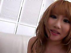 schöne japanische Mädchen einige Kopf zu geben !!