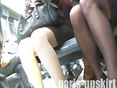 ПРУЖИНА подглядывание под юбки Е08