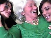 Lesbian Jugendliche Granny Norma Von MatureSide
