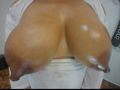 Amazing Milky Lactating Tits in HD part 1