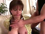 Mature british lady sucks while bound