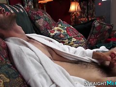 Cums straighty amateur