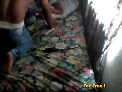 Hidden cam junge Dominikanischen Paar