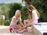 Lesbian sluts love to lick some cunts