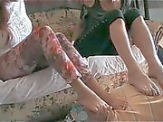 Stinky Foot Smothering for Mister Apnea