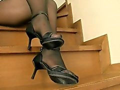 Wife Pantyhose Show