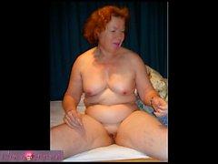 Naughty mature redhead Faye Rampton anal fun