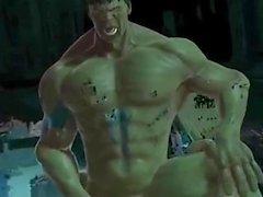 Hulks ficken Wut mit Spiderman