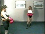 Sugar Ray René vs Paradise tetas al aire boxeo