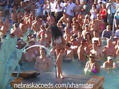 Hot Certamen Administración en partido de piscina de Cayo Hueso