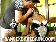Hot and Naughty TS Maid