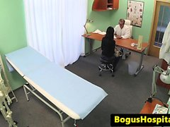 Bogus euro doggystyle docteur fucking patient
