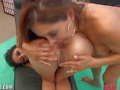 EvilAngel Francesca Le Fucks Latina in Threesome