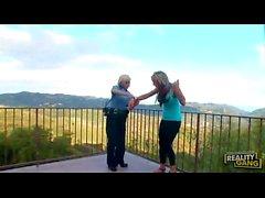 Diamond Foxxx & Lésbica Nikki Sexx polícia