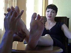 Del masaje del pie de Goth Ama