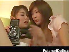 Futanari Squirting !