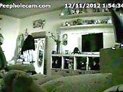 teen caught masturbating in bedroom (hidden cam - peepholecam 121112)