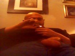 riesig Pfeife rauchen und Schnüffelrohr Rohr wichsen