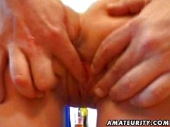 Mature amateur wife hardcore facial cumshot