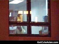 Asyalı Büro Lanet olası bedava porno videoları part6