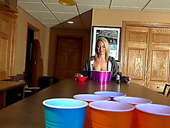 Nikki sims threatening-fearsome beer pong two fearsome(09.02.2018)