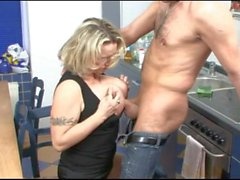 Big Boobs German Stepmom