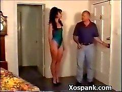 Sexy bondage Schoffel Waanzinnig afgedroogd