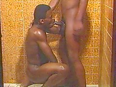 Ebony do vintage do casa sexo gay