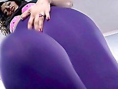 Cutie in pantyhose