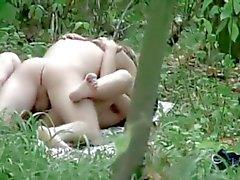 Hups ! Kun näin pariskunta metsä !
