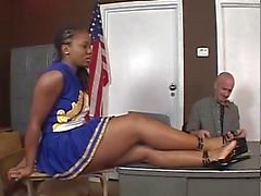 Tara - Ebony Cheerleader