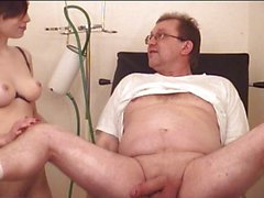 Hot babe and her doctor