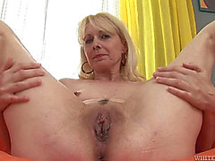 Interracial sex for aged blond Koko Golden-Haired