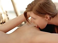 Two glamour teens Rossy Bush and Maria Pie hot lesbosex