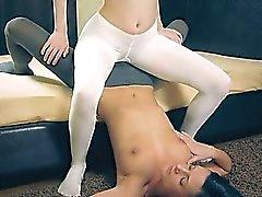 bezaubernden Heisse Lesben im Pantyhose